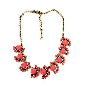 Jcrew Factory Necklace Coral